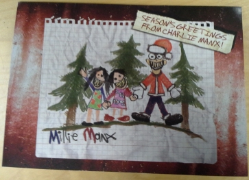 A Millie é artista...